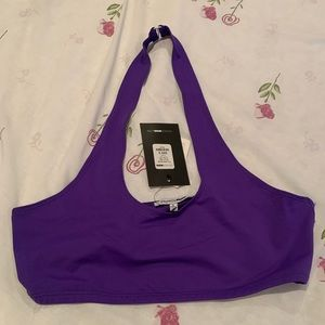 NWT Fashion Nova Purple Crop Top. Size Small.